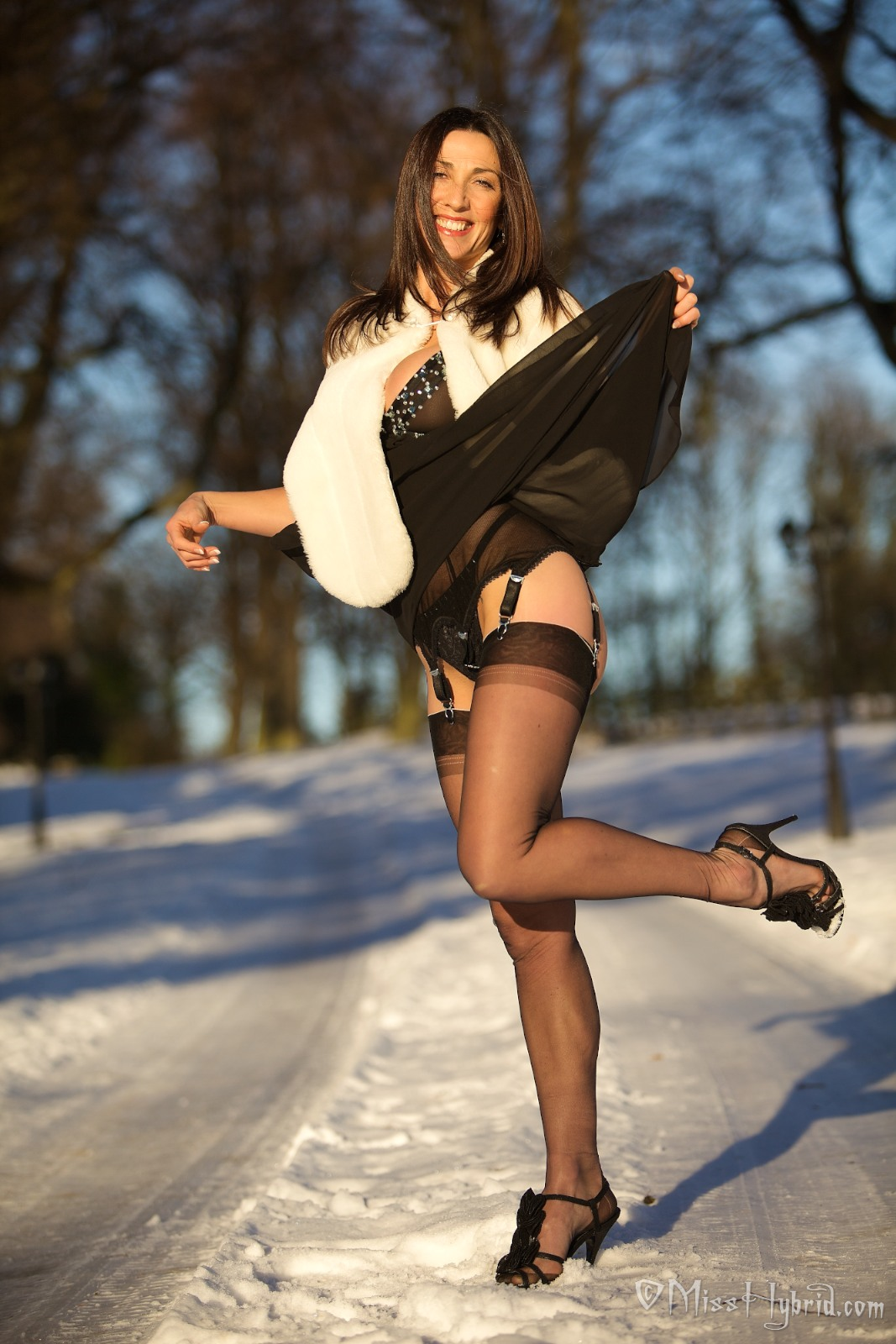 Bockt wunderbar Pantyhose out of style pussy must